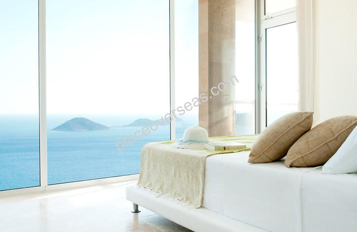 exclusive villa in kalkan with sea view